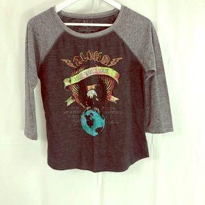 3/$30 ❤️- BILLABONG 3/4 T-shirt (soft)